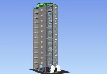 Dự án Homey Residential Building